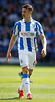 Jonathan Hogg of Huddersfield Town  during the English Championship play-off 1st leg match at the John Smiths Stadium, Huddersfield. Picture date: May 13th 2017. Pic credit should read: Simon Bellis/Sportimage