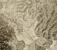 historical aerial photograph Thousand Oaks, California, 1947