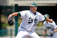 April 23, 2011:    Jacksonville University Dolphins lhp Tony Mollica (29) pitches during Atlantic Sun Conference action between Stetson Hatters and Jacksonville University Dolphins at John Sessions Stadium in Jacksonville, Florida.  Jacksonville defeated Stetson 10-4...........