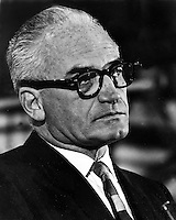 Sen. Barry Goldwater 1964 running for President.<br />