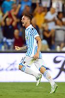 GOAL SPAL MANUEL LAZZARI. Goal celebration<br /> Ferrara 27-08-2017 Stadio Paolo Mazza Calcio Serie A 2017/2018 Spal - Udinese Foto Filippo Rubin/Insidefoto