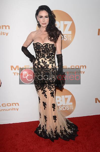Jessica Jaymes<br /> at the 2019 XBIZ Awards, Westin Bonaventure Hotel, Los Angeles, CA 01-17-19<br /> David Edwards/DailyCeleb.com 818-249-4998