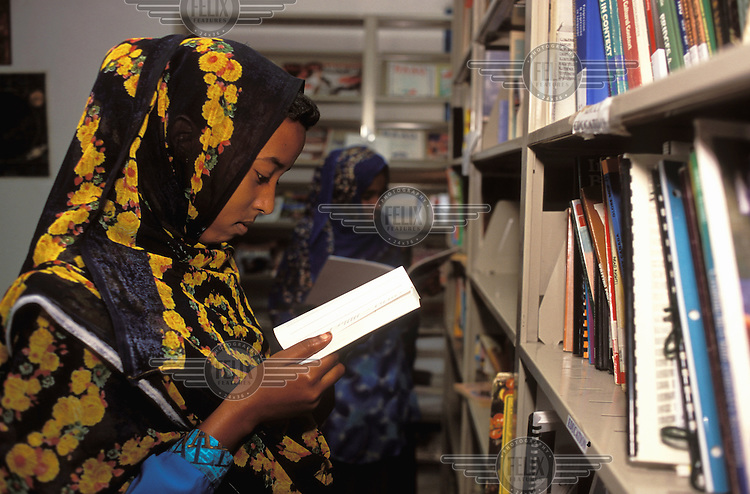 ©Liba Taylor/Panos Pictures..Somaliland. Hargeisa library.