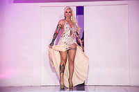 SÃO PAULO, SP, 10.11.2015 - Sabrina Boing Boing, representante do Rio Grande do Sul durante a quinta edição do concurso Miss Bumbum no bairro de Perdises na região oeste da cidade de São Paulo na noite de ontem segunda-feira, 09. (Foto: William Volcov/Brazil Photo Press)