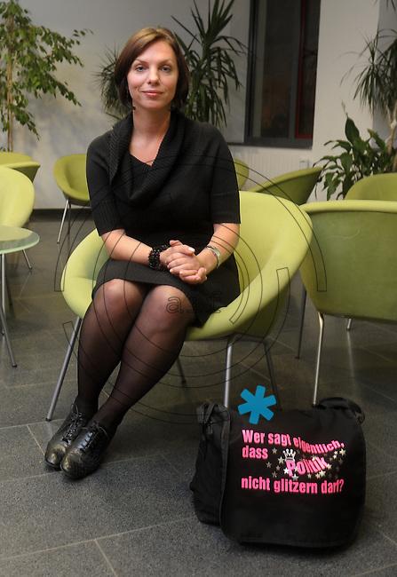 MdB Kandidatin Landkreis Nordsachsen der Partei Die Linke - Susanna Karawanskij (33).  Foto: Norman Rembarz