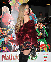 Tyne-Lexy Clarson at the &quot;Nativity Rocks!&quot; gala film screening, Vue West End, Leicester Square, London, England, UK, on Sunday 04 November 2018.<br /> CAP/CAN<br /> &copy;CAN/Capital Pictures