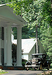 Plantation home with  antique car Commonwealth of Virginia, Fine Art Photography by Ron Bennett, Fine Art, Fine Art photography, Art Photography, Copyright RonBennettPhotography.com ©