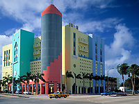 USA, Florida, Miami-Beach: art-deco-Viertel at Washington Avenue | USA, Florida, Miami-Beach: art-deco-district at Washington Avenue