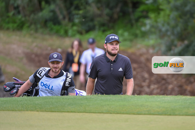 Tyrrell Hatton (ENG) approaches the green on 4 during day 4 of the WGC Dell Match Play, at the Austin Country Club, Austin, Texas, USA. 3/30/2019.<br /> Picture: Golffile | Ken Murray<br /> <br /> <br /> All photo usage must carry mandatory copyright credit (© Golffile | Ken Murray)