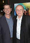 """Tom Kirdahy, Terrence McNally attend the Broadway Opening Night Performance of """"Lady Day at Emerson's Bar & Grill""""  at Circle in the Square Theatre on April 13, 2014 in New York City."""