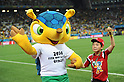 Fuleco,<br /> JUNE 26, 2014 - Football / Soccer :<br /> FIFA World Cup Brazil 2014 Group H match between South Korea 0-1 Belgium at Arena de Sao Paulo in Sao Paulo, Brazil. (Photo by SONG Seak-In/AFLO)