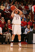 15 November 2007: Stanford Cardinal Jeanette Pohlen during Stanford's 97-62 loss against the USA Women's National Basketball Team at Maples Pavilion in Stanford, CA.