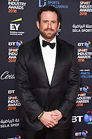 Jason Fox arriving for the BT Sport Industry Awards 2018 at the Battersea Evolution, London, UK. <br /> 26 April  2018<br /> Picture: Steve Vas/Featureflash/SilverHub 0208 004 5359 sales@silverhubmedia.com