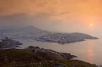 Europe/France/Languedic-Roussillon/66/Pyrénées-Orientales/Port Vendres: Vue générale au soleil levant