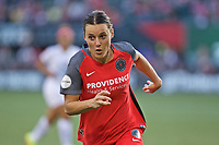 Portland, OR - Wednesday June 28, 2017: Hayley Raso during a regular season National Women's Soccer League (NWSL) match between the Portland Thorns FC and FC Kansas City at Providence Park.
