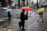 Tokyo, 8 juillet 2012 - Umbrellas