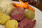 Corned beef and cabbage<br />