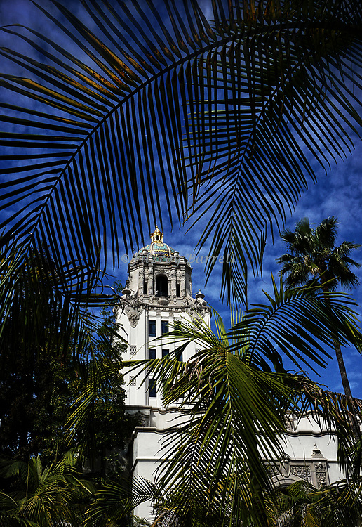 Beverly Hills City Hall a Spanish Colonial Architectural style February 25, 2017. ©Fitzroy Barrett