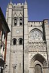 Cathedral; Avila; Spain