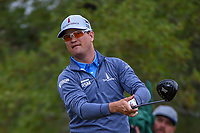 Zach Johnson (USA) watches his tee shot on 2 during Round 3 of the Valero Texas Open, AT&amp;T Oaks Course, TPC San Antonio, San Antonio, Texas, USA. 4/21/2018.<br /> Picture: Golffile | Ken Murray<br /> <br /> <br /> All photo usage must carry mandatory copyright credit (&copy; Golffile | Ken Murray)