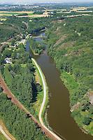 Bruz - Le Boel avec moulin et ecluse sur la Vilaine