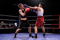 Sheffield Varsity Boxing 2017 Vincent Wong Team Hallam v Jonny Callan Uni of Sheffield