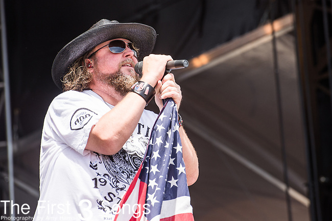 Colt Ford performs onstage during The Tortuga Music Festival in Fort Lauderdale, Florida.