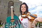 TRAD MAD: Denise Wren of the Listowel Music School who is holding a series of Irish music camps locally in July.