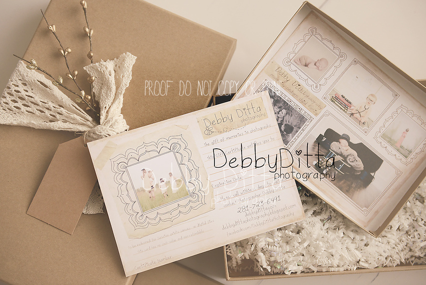 Debby Ditta Photography Gift Certificates