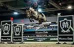 John Whitaker of United Kingdom riding Lord Of Arabia in action at the Massimo Dutti Trophy during the Longines Hong Kong Masters 2015 at the AsiaWorld Expo on 15 February 2015 in Hong Kong, China. Photo by Juan Flor / Power Sport Images