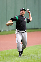 June 13th 2008:  Pitcher Joe Krebs of the Dayton Dragons, Class-A affiliate of the Cincinnati Reds, during a game at Stanley Coveleski Regional Stadium in South Bend, IN.  Photo by:  Mike Janes/Four Seam Images