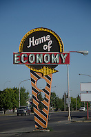 The Home of Economy is in Williston, North Dakota.