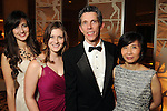 Daphne Yuanidis, Amanda Meininger, Edward Folse and Yishio Kuo at the Dominic Walsh Dance Theater's 10th Anniversary Season Gala at the Four Seasons Hotel Friday May 4,2012. (Dave Rossman Photo)