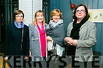 At the Tralee Rugby Club  Fundraising Cookery Demo by Mark Doe at the Ashe Hotel on Friday were Trish Fox, Margaret O'Brien, Caroline O Carroll, Rose Daly