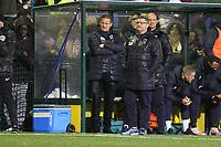 Neal Ardley manager of Wimbledon during Haringey Borough vs AFC Wimbledon, Emirates FA Cup Football at Coles Park Stadium on 9th November 2018