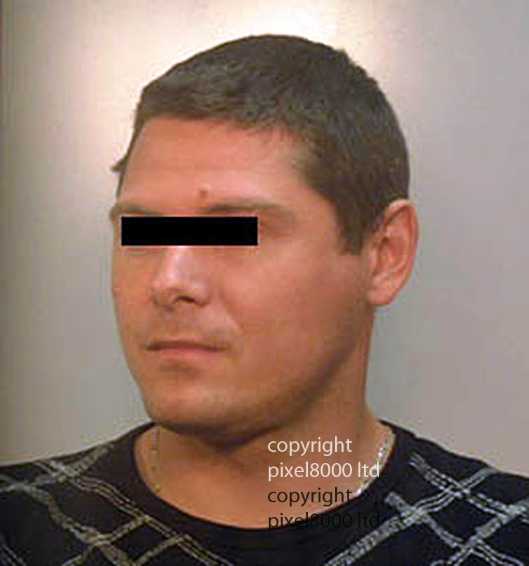 """Pics shows; Police mugshot of  caretaker Csaba Augusztinyi  who admitted killing former model Eva Rhodes<br /> <br /> <br /> Inquest today in the death of the former model in Hungary <br /> at Westminster Coroners' Court London<br /> <br /> Daughter of former beauty queen and London socialite Eva Rhodes believes a Hungarian policeman had a motive for her murder, an inquest heard<br /> <br /> The daughter of former British model Eva Rhodes believes a Hungarian policeman had a motive to get rid of her mother and organised her murder with the man convicted of the killing, an inquest heard.<br /> <br /> <br /> Mrs Rhodes, a friend of John Lennon, disappeared in September 2008 and was originally classed as a """"missing person"""" despite her relatives saying she had been robbed and murdered. Her body was found in woods near her home near Gyor, 65-miles from Budapest in 2009, and her caretaker Csaba Augusztinyi admitted killing her<br /> <br /> <br /> <br /> <br /> Pic by Pixel 8000 Ltd"""