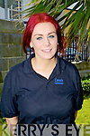 Ann Marie O'Sullivan..CAMOS Restaurant..Ann Marie (21), from Dromid has been studying Complementary Health Therapy for the past two years at the College of Commerce and is currently doing her final year at Tralee, Ann Marie would like to travel before settling down, she is a big Dromid GAA fan and she rows for Sive RC.