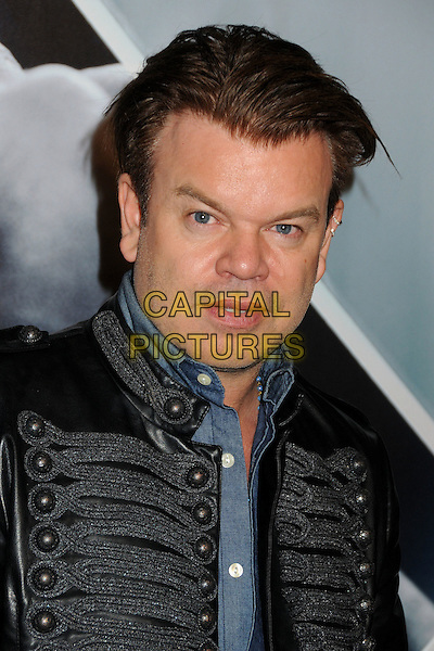 "Paul Oakenfold.""X-Men: First Class"" Blu-Ray/DVD Release Party held at the Roosevelt Hotel, Hollywood, California, USA..September 8th, 2011.headshot portrait black blue shirt grey gray leather jacket military  .CAP/ADM/BP.©Byron Purvis/AdMedia/Capital Pictures."