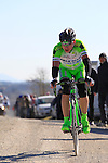 The riders tackle Sector 7 Monte Sante Maria of gravel during the 2015 Strade Bianche Eroica Pro cycle race 200km over the white gravel roads from San Gimignano to Siena, Tuscany, Italy. 7th March 2015<br /> Photo: Eoin Clarke/www.newsfile.ie