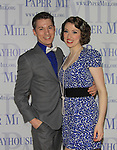 "Ian Liberto & Darien Crago star in ""Thoroughly Modern Miillie"" at the Paper Mill Playhouse, Millburn, NJ with opening night being on April 14, 2013. Opening Night at after party at Martinis Bistro and Bar.   (Photo by Sue Coflin/Max Photos)"