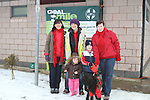 Edel and Laura Sayers, Michelle Hall, Audrey and Ryan Delaney and Bella at the Goal Mile on St. Stephens Day...(Photo credit should read Jenny Matthews www.newsfile.ie)....This Picture has been sent you under the conditions enclosed by:.Newsfile Ltd..The Studio,.Millmount Abbey,.Drogheda,.Co Meath..Ireland..Tel: +353(0)41-9871240.Fax: +353(0)41-9871260.GSM: +353(0)86-2500958.email: pictures@newsfile.ie.www.newsfile.ie.