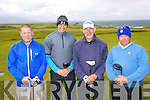 Denis O'Connell, Alex Carey Eddie Ford, William Carey at the Pat Mulcare Am Am at Tralee Golf Club, Barrow on Sunday