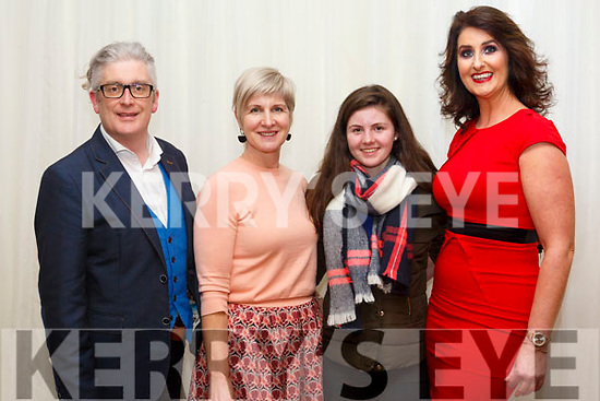 Danny Leane , Annburys, Aoife Hannon and Clodagh Hannon, of  Aoife Hannon designs, and Ann Kahraman, Ballyheigue