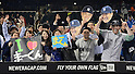 Fans of Masahiro Tanaka (Yankees),<br /> MAY 14, 2014 - MLB :<br /> Fans of Masahiro Tanaka of the New York Yankees cheer during the Major League Baseball game between the New York Yankees and the New York Mets at Citi Field in Flushing, New York, United States. (Photo by AFLO)