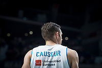 Real Madrid Fabien Causeur during Turkish Airlines Euroleague match between Real Madrid and CSKA Moscu at Wizink Center in Madrid, Spain. October 19, 2017. (ALTERPHOTOS/Borja B.Hojas) /NortePhoto.com