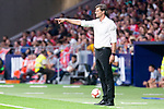 SD Huesca coach Leo Franco during La Liga match between Atletico de Madrid and SD Huesca at Wanda Metropolitano Stadium in Madrid, Spain. September 25, 2018. (ALTERPHOTOS/Borja B.Hojas)