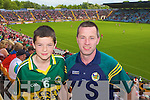 Kerry Fans Michael Maloney, Rathmore and Pat Sheehan Kilcummin at the Munster Semi-Final Replay at Park Ui Caoimh on Sunday