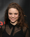 Mia Vallet attends the Off-Broadway Opening Night party for 'Mary Shelley's Frankenstein' at the Green Room on December 27, 2017 in New York City.