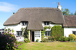 Property released pretty thatched country cottage Cherhill, Wiltshire, England