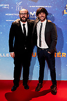 Dani San Jose and Borja Cobeaga attends to Super Lopez premiere at Capitol cinema in Madrid, Spain. November 21, 2018. (ALTERPHOTOS/A. Perez Meca) /NortePhoto NORTEPHOTOMEXICO